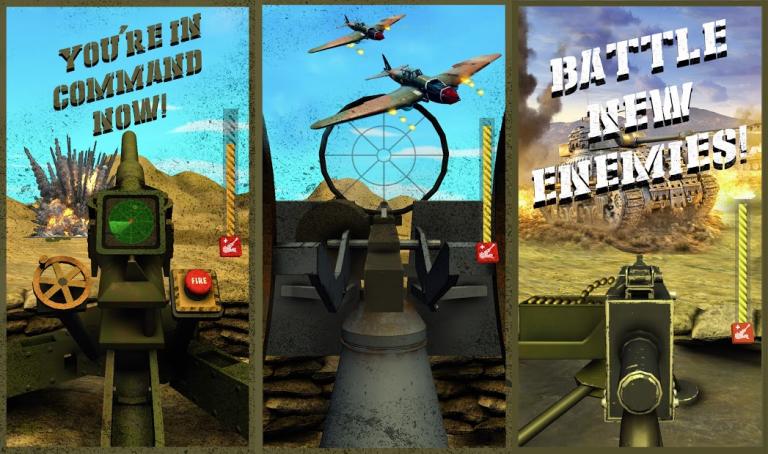 『Mortar Clash 3D: Battle Games』王道かつ最先端!セクシーでキュートな美少女が沢..