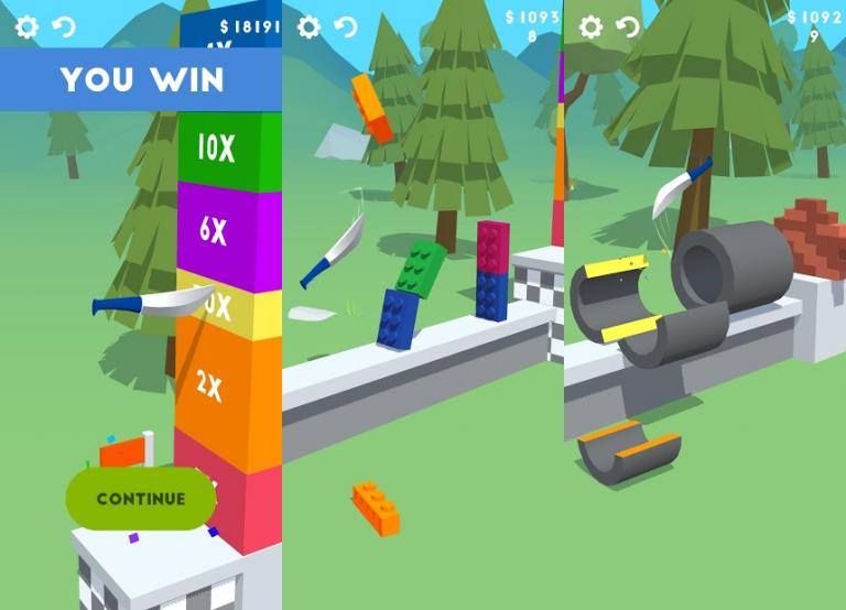 『Slice It All!』建築とパズルがこのアプリ1つで楽しめちゃう新感覚のストラテ..