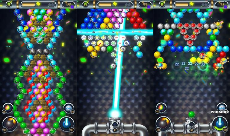 Bubble Blast Pop Match Mania、侵攻、協力、裏切り、様々な策略を巡らせて領土を広げていき、..