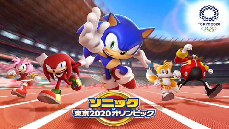 『ソニック AT 東京2020オリンピック』縦画面で片手でも簡単に遊べる新感覚のMMORPG!