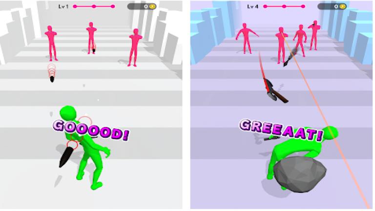 Dodge Action 3D、様々なパチンコ、パチスロが遊べるギャンブル系アプリゲーム!