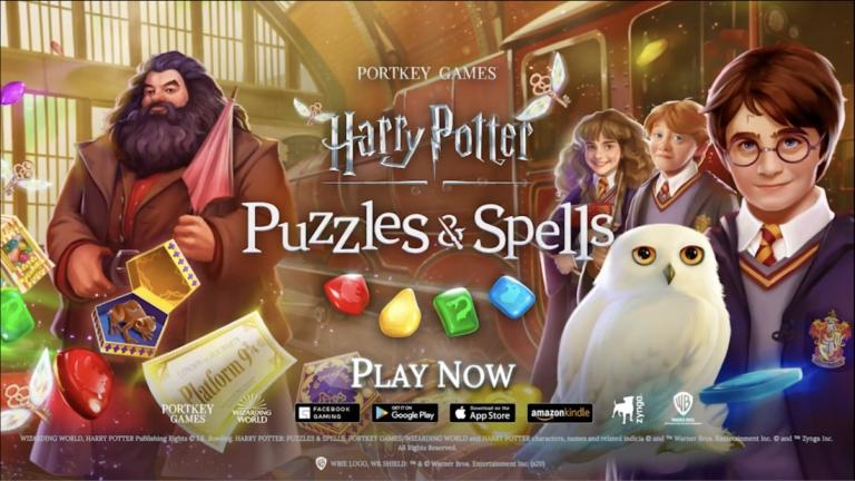 ハリー・ポッター:呪文と魔法のパズル、色の付いた水を入れ替えていき同じ色に統一するシンプルパズル..