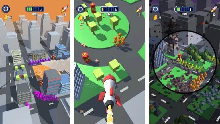『Gang Blast』建築とパズルがこのアプリ1つで楽しめちゃう新感覚のストラテ..