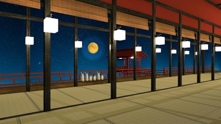 『お月見の夜』軽快な操作感とド迫力と爽快感が味わえるエフェクトによる唯一..