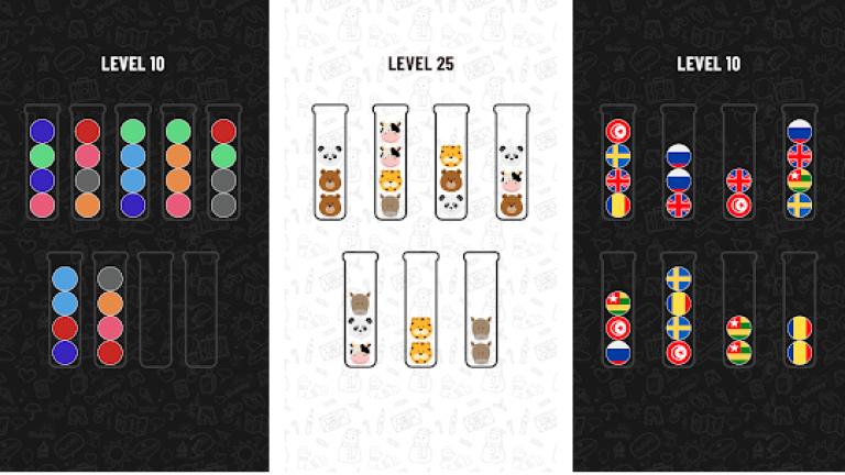 『Ball Sort Puzzle』縦画面で片手でも簡単に遊べる新感覚のMMORPG!