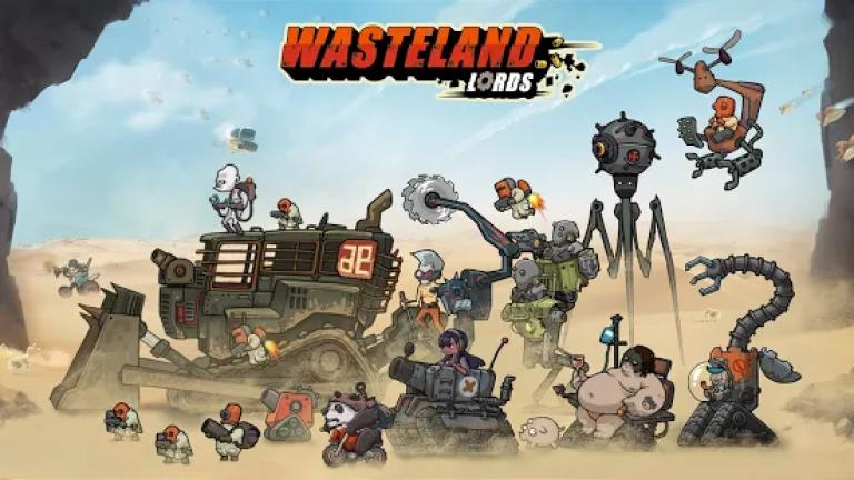 『Wasteland Lords -荒野領主-』億万長者になって美女をたくさん雇い、美女にまみれた生活を楽..
