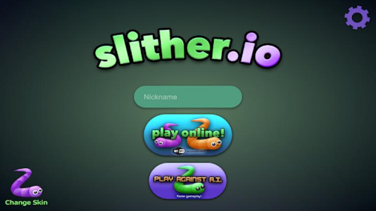 『slither.io』ツリーハウスのある森の中から抜け出そう!!