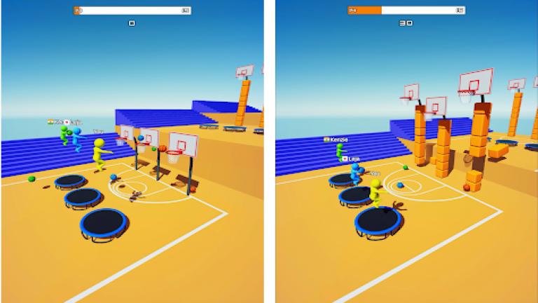 『Jump Dunk 3D』全国のプレイヤーと早押しクイズを楽しもう!