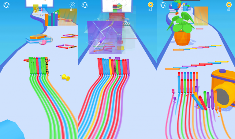 『Pencil Rush 3D』昔ながらの硬派なロールプレイングゲーム