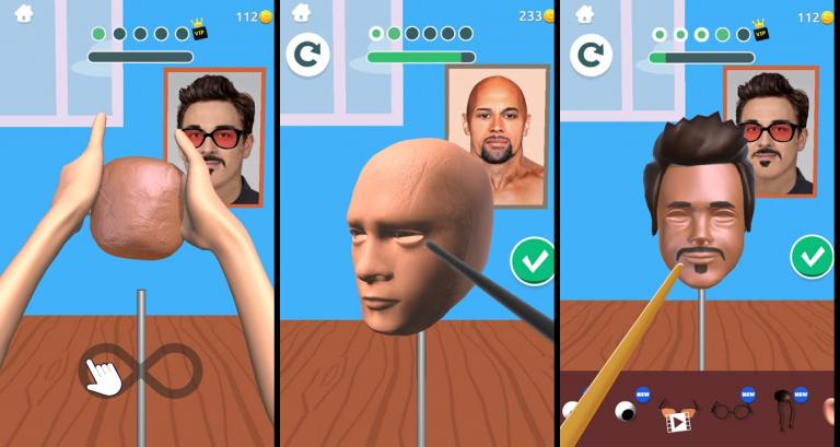 『Sculpt people』昔ながらの硬派なロールプレイングゲーム