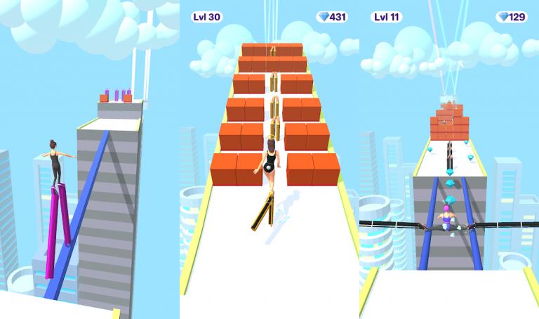 『High Heels!』地味な女の子を綺麗に大変身させてあげるパズルゲーム!