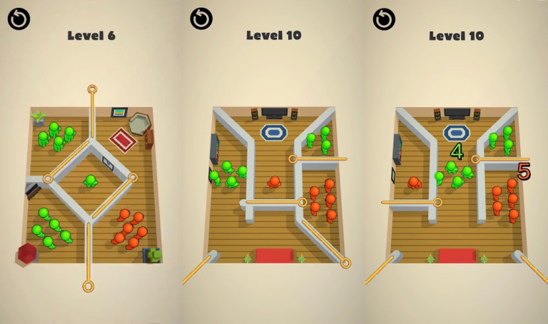 『Crew Tactics Puzzle』パズルゲームを楽しみながら自分だけの可愛いお庭..
