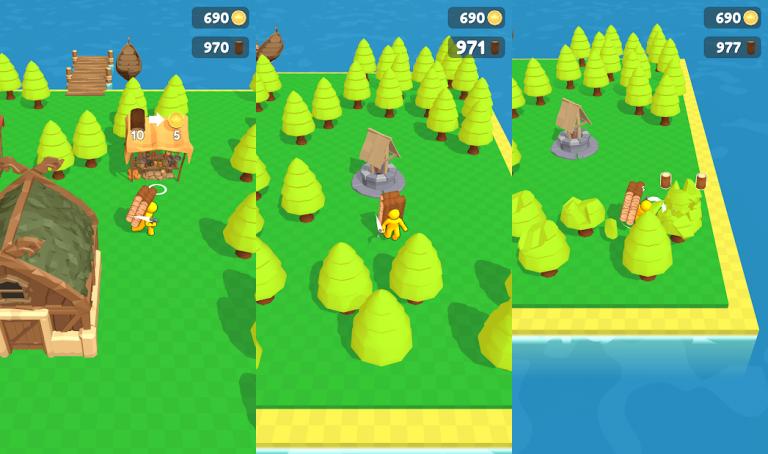 『Craft Island』地味な女の子を綺麗に大変身させてあげるパズルゲーム!