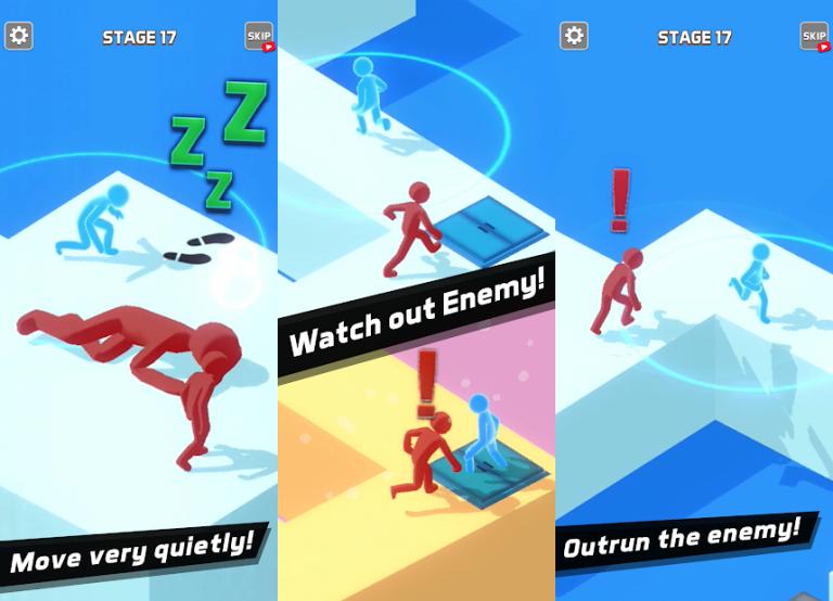 『Sneak Out 3D』地味な女の子を綺麗に大変身させてあげるパズルゲーム!