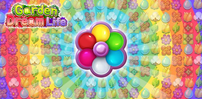 『ガーデンドリームライフ:フラワーマッチ3パズル』美麗グラフィックの史上最高峰の国産MMORPG!@f..