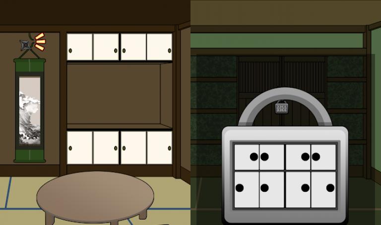 『脱出ゲーム 忍者屋敷からの脱出』昔ながらの硬派なロールプレイングゲーム