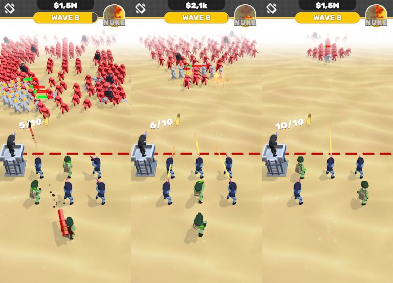 『Idle Army』建築とパズルがこのアプリ1つで楽しめちゃう新感覚のストラテ..