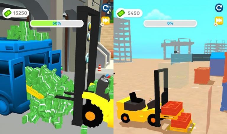 Builder Master 3D、2種類の生物を融合させて、新しい生物を生み出そう!
